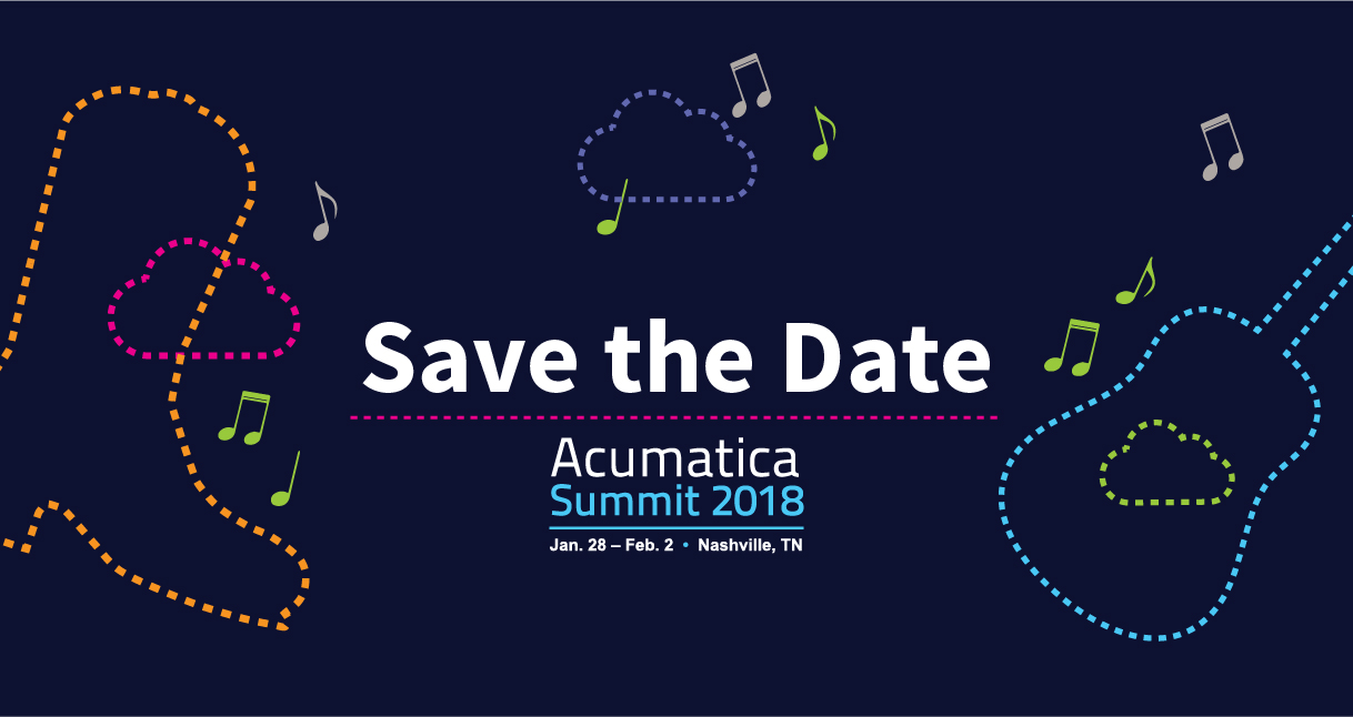 Acumatica Summit 2018 in Nashville
